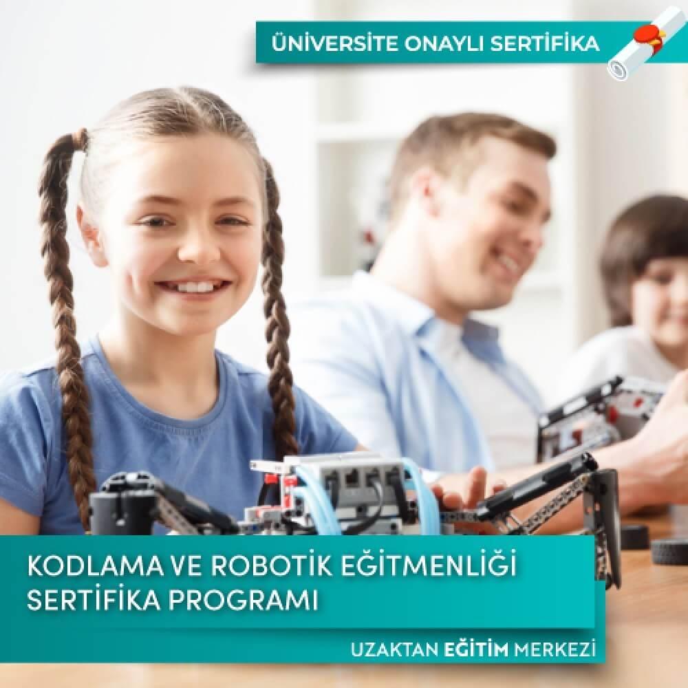 Kodlama ve Robotik Eğitmenliği Sertifika Programı