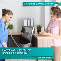 Hasta Kabul İşlemleri Sertifika Programı